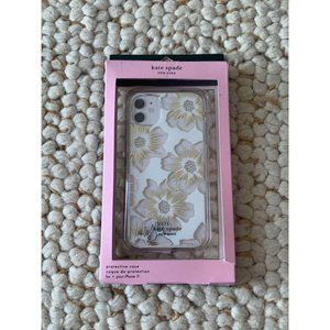 KATE SPADE Floral Magnolia iPhone 11 Case NEW